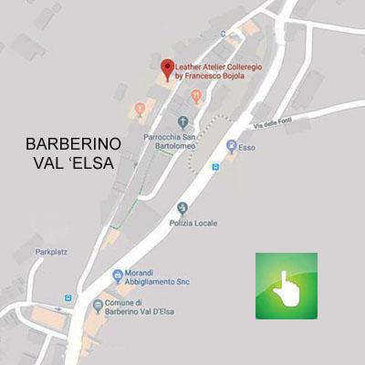 Barberino val d'elsa map